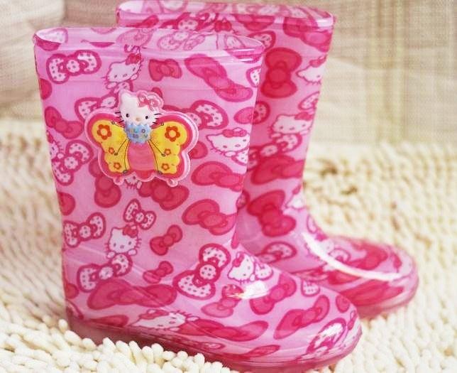 harga Sepatu Boot Anak Hello Kitty Import ( Ag ) Blanja.com