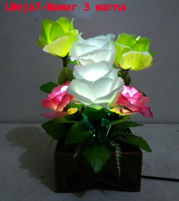 ... harga Lampu meja  bunga mawar 7 tangkai (lm7t) Tokopedia.com ac473d2e6f