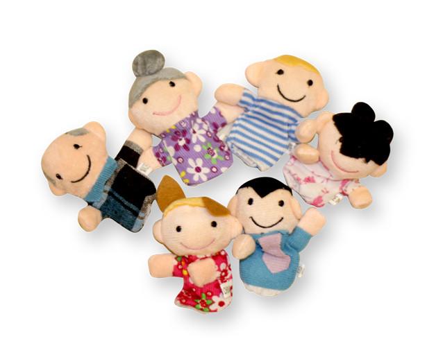 Foto Produk Boneka jari Keluarga / Family mainan edukatif edukasi anak bayi balita dari Edukasi Toys