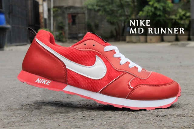 harga Nike md runner red white (39 - 44) Tokopedia.com