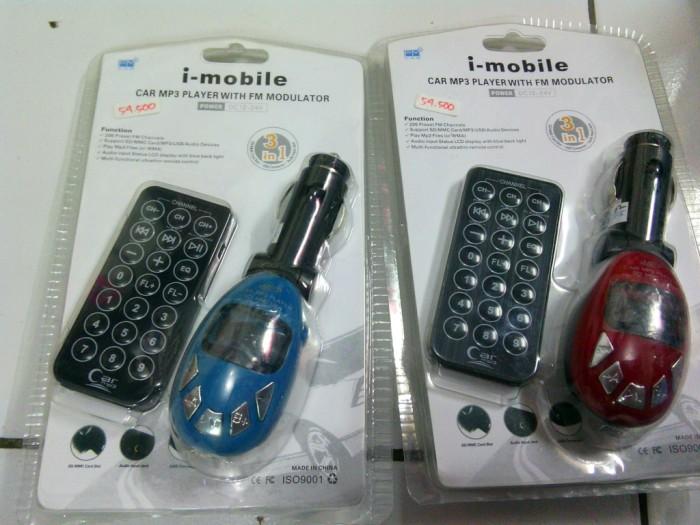 harga Fm modulator+remote i-mobile Tokopedia.com
