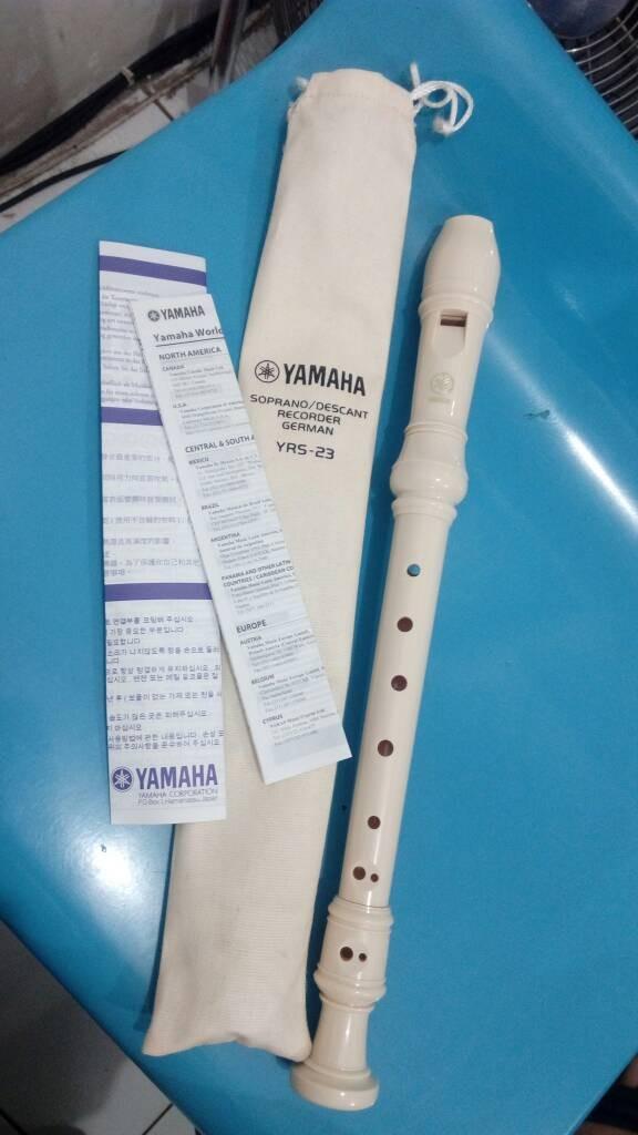 harga Flute recorder yamaha yrs-23 Tokopedia.com