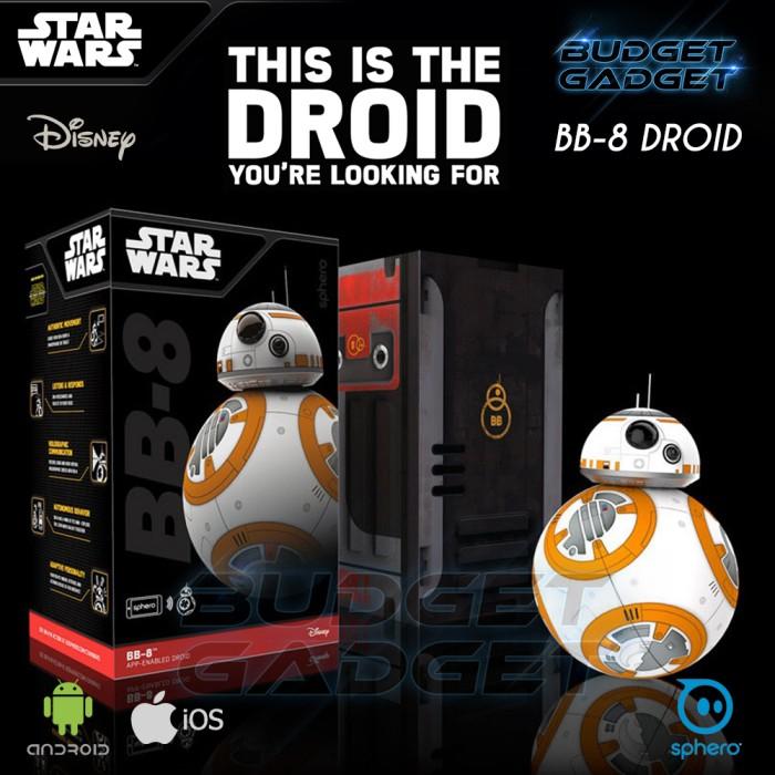Jual ORIGINAL ROBOT PINTAR BB 8 Droid - SPHERO (Starwars) - Best ... 280fded6d7