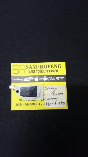 harga Samsung note 4 n910 / n 910 buzzer / bazer / speaker aktif / lagu Tokopedia.com