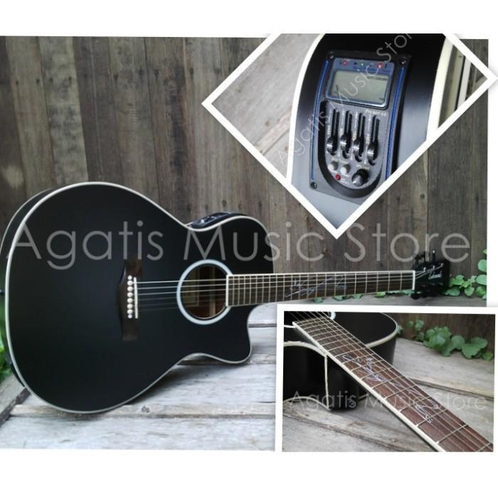 harga Gitar lakewood hitam  lc inlay signature custom laser Tokopedia.com