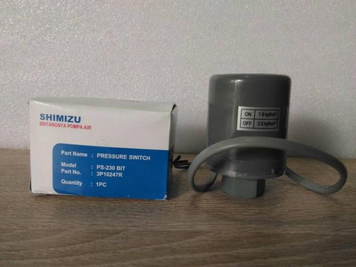 Jual Pressure Switch Otomatis Pompa Air Shimizu PS 230 BIT