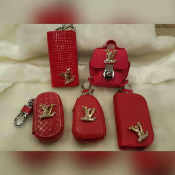 b8e5dceeba0d Dompet stnk kunci mobil kulit red louis vuitton 5 model harga ...