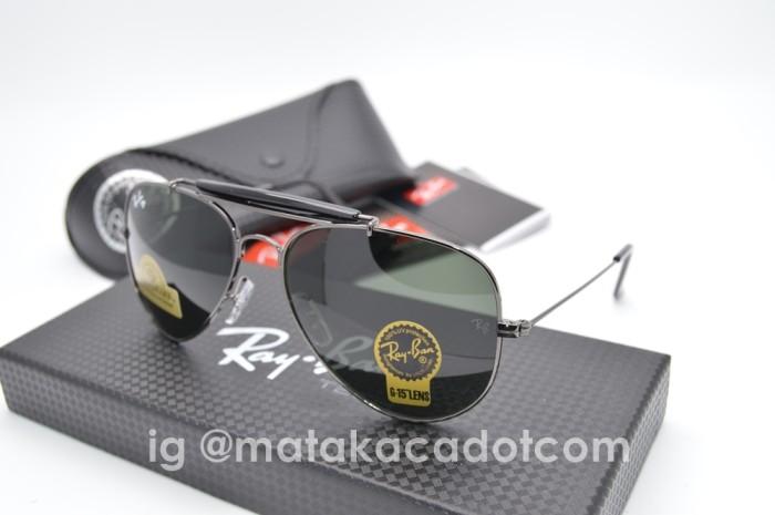 Kacamata Sunglass R*yb*n Gading 1693 Gun