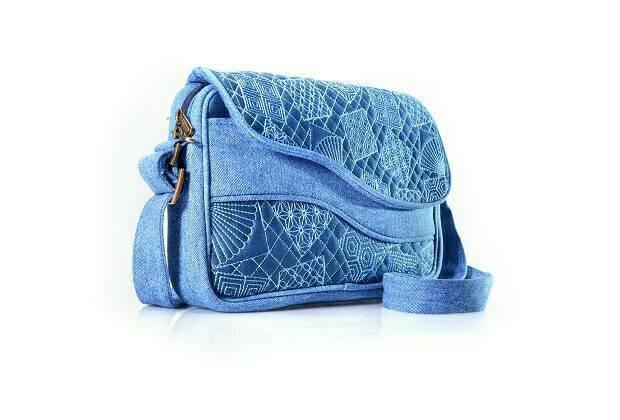 Mokamula Faleen Bag Chike Tas Selempang Jeans Cewek Serbaguna Murah