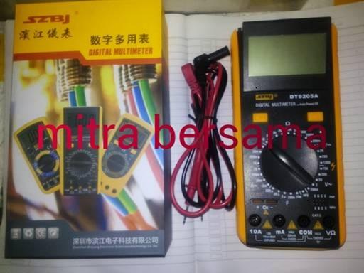 harga Multi tester digital 9205 good Tokopedia.com