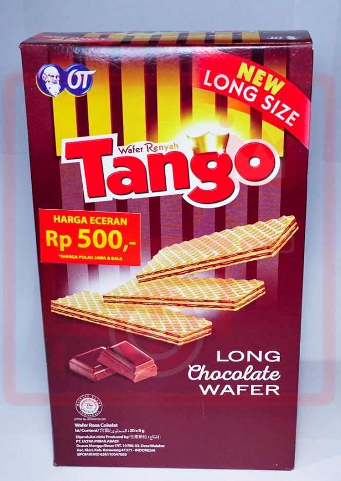 Tango Long Chocolate Wafer 20 X 8g