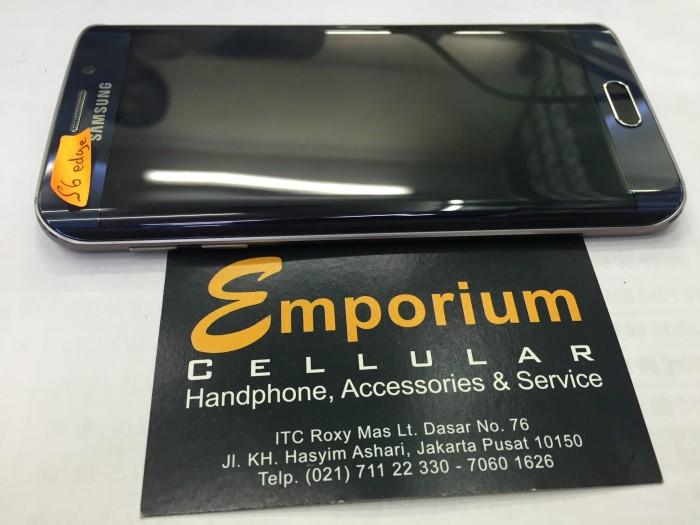 Jual Samsung Galaxy S6 Edge Blue Bekas Emporium Cellular Tokopedia