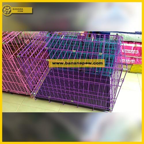 harga Kandang anjing kucing lipat 2 pintu xl octagon Tokopedia.com
