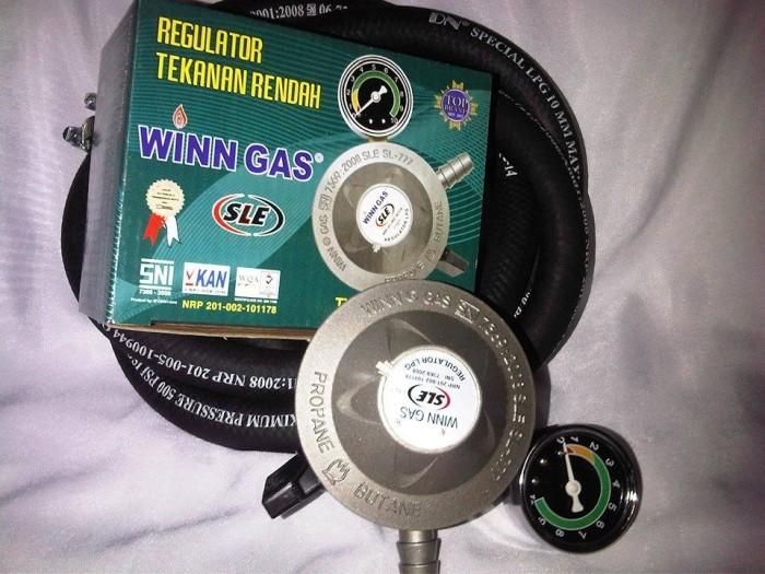 harga Regulator winn gas sle 777 meter selang lpg 500 psi plus clamp Tokopedia.com