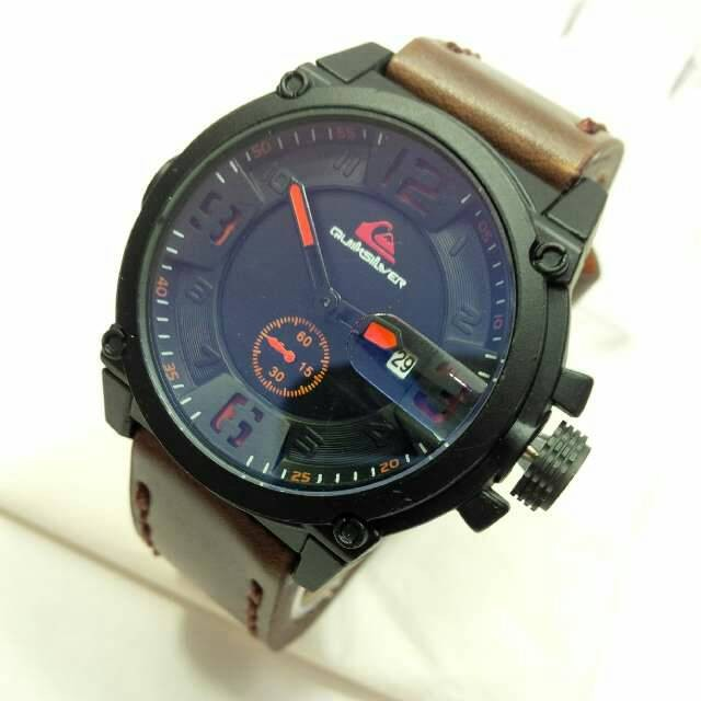 Quiksilver Chrono Kulit Leather Full Black - Daftar Harga Terlengkap ... d105fc0e48