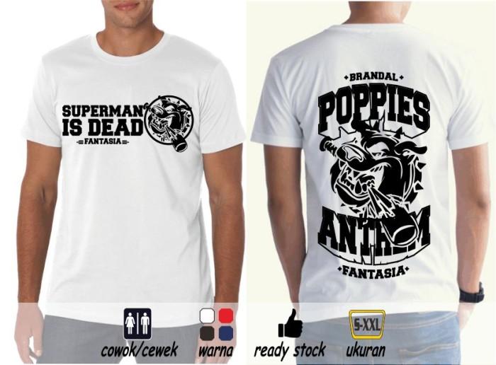 harga Kaos sid fantasia #3a (s-xxl) #metsustore (outsider superman is dead) Tokopedia.com