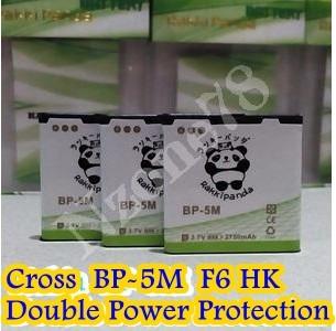 Baterai cross evercoss f6 hk bp5m rakkipanda double power