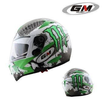 harga Helm gm airbone one monster energy double visor full fullface Tokopedia.com