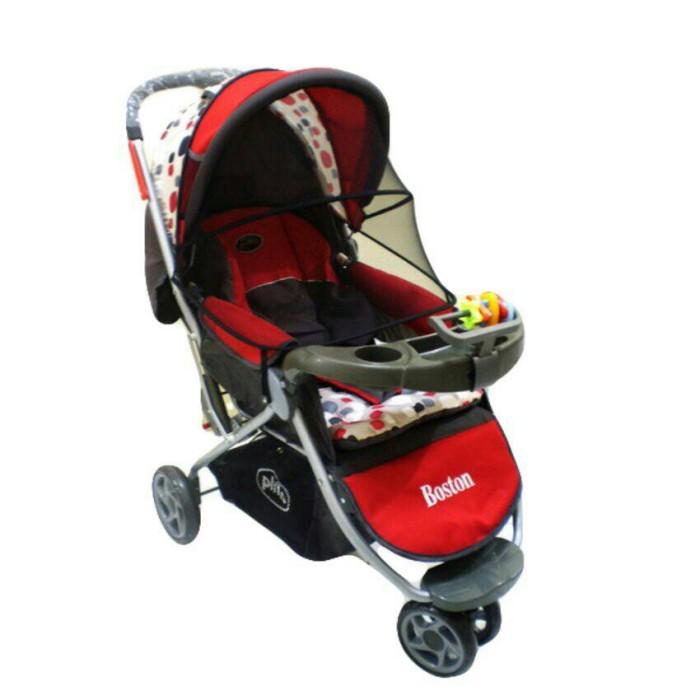harga Stroller/kereta dorong bayi pliko boston pk338 roda 3 Tokopedia.com