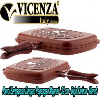 Vicenza Panci Serbaguna 32 cm dengan Pegangan Magnet - Happy Call