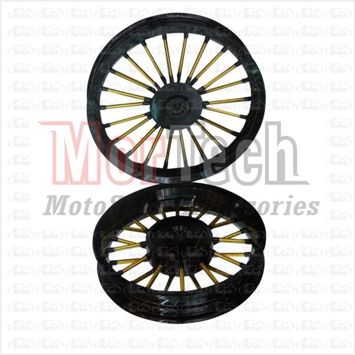 harga Velg racing lebar power andong vario 125 palang 5 hitam gold Tokopedia.com