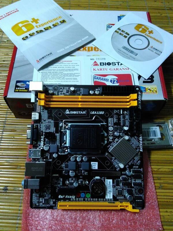 Jual Mainboard/Motherboard BIOSTAR H81MHV3 LGA1150 - DKI Jakarta - Agung  ACC   Tokopedia