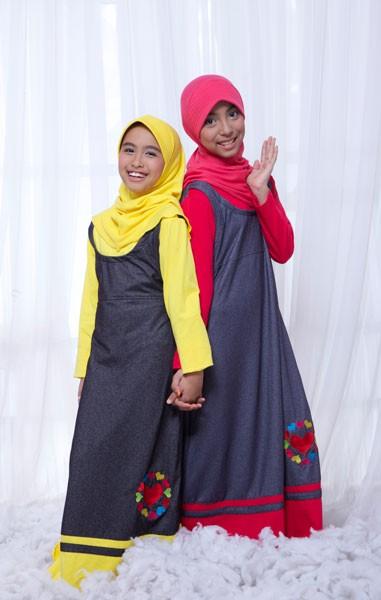 Jual Baju Muslim Gamis Anak Murah Bahan Kaos Ukhti Uk 63 Baju