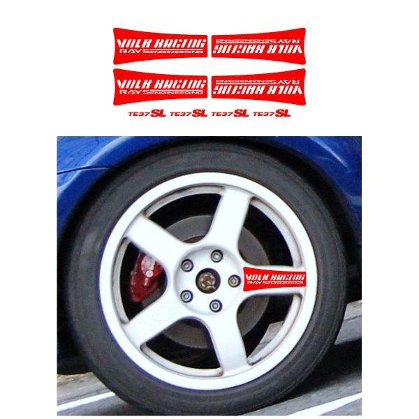 Jual Sticker Velg Mobil Volk Racing Te37sl Jakarta Timur Diskon Termurah Tokopedia