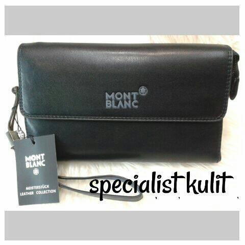 harga Handbag tas tangan pria wanita kulit import super premium montblanc.  Tokopedia.com f79697ea7c