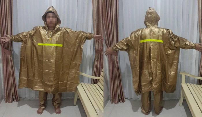 harga Jas hujan ponco + celana merek elephant/ gajah asli 100% Tokopedia.com