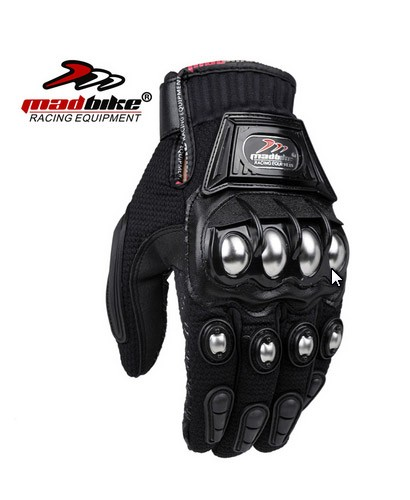 harga Sarung tangan motor biker bikers madbike besi kulit Tokopedia.com
