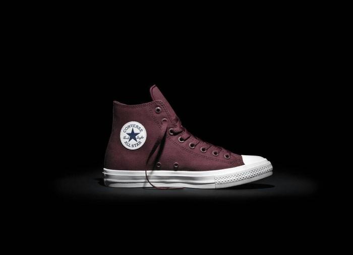 Jual sepatu converse chuck taylor 2 original hi maroon - queen ... ca3d2305d7