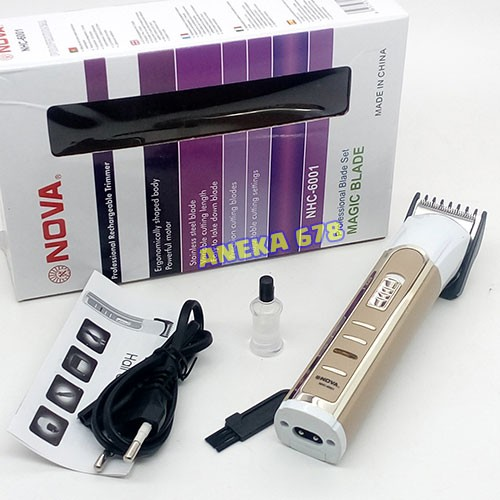 Original 6011 Biru Source · Nova NHC 6001 Hair Clipper Alat Cukur Rambut . 27d5cefeea