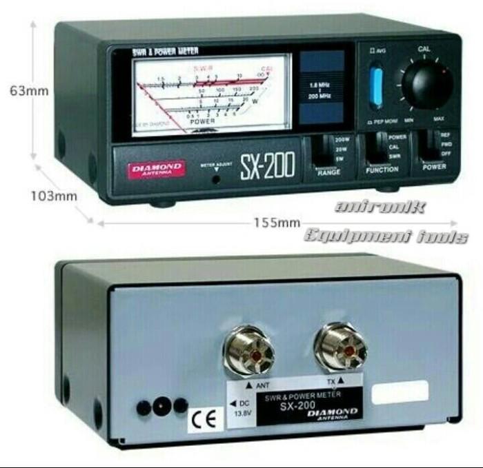 harga Swr diamond sx 200 hf vhf Tokopedia.com