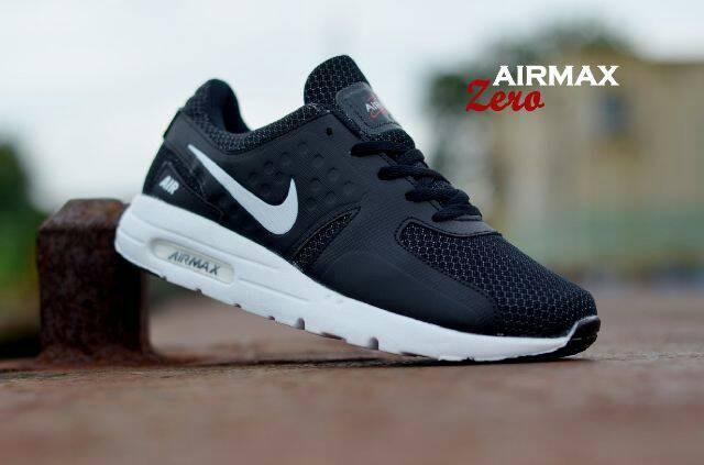 69a7363aa7 ... sweden sepatu sporty nike air max zero hitam list putih grade original  b6cc5 769cd