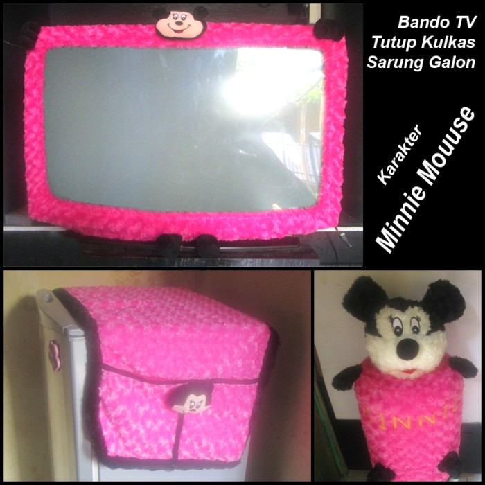 harga Bando tv sarung galon & tutup kulkas karakter mickey mouse Tokopedia.com