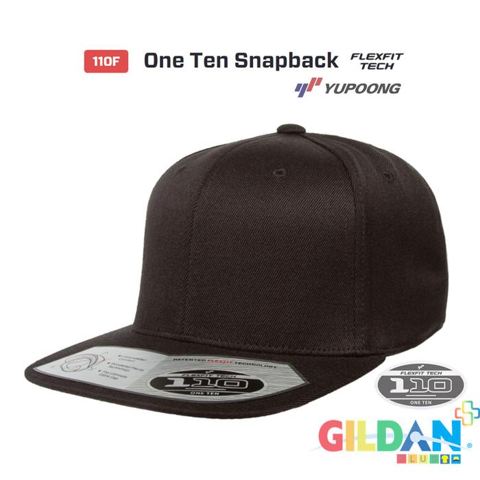 3c37cf5f82f Jual 110F One Ten Snapback Flexfit Yupoong  Premium  Topi Hip Hop ...