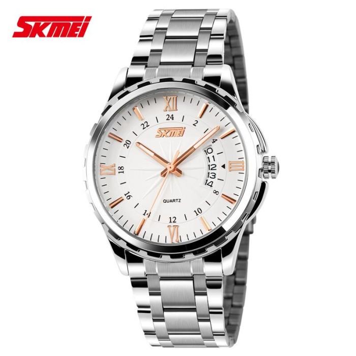 harga Jam tangan pria original anti air skmei casual model rantai Tokopedia.com
