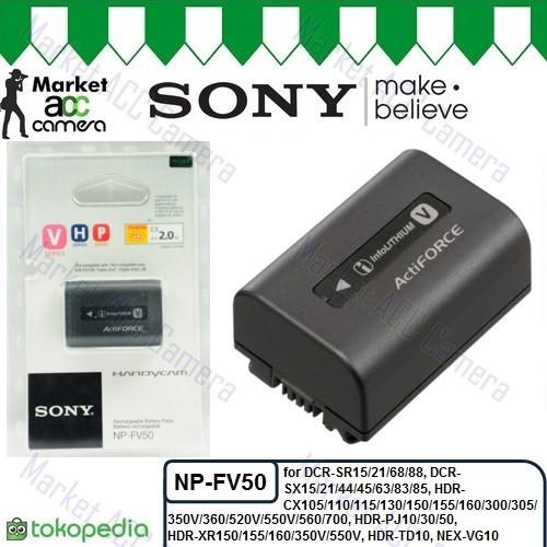 harga Battery sony np-fv50 for dcr-sr15/sr21/sr68/sr88/sx15/sx21/sx45/sx65 Tokopedia.com