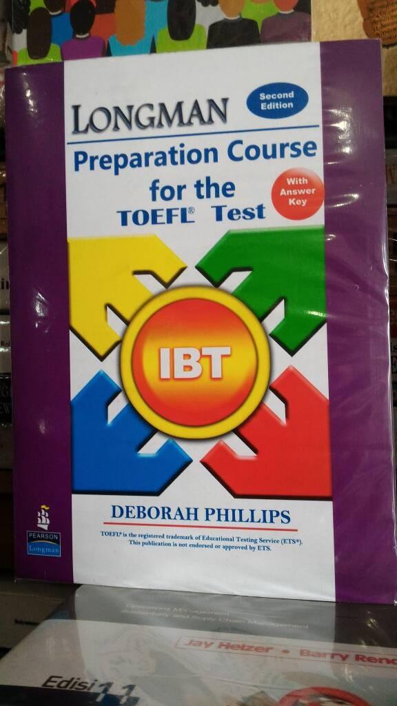 harga Toefl longman ibt + cd Tokopedia.com