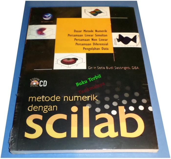 harga Metode numerik dengan scilab Tokopedia.com