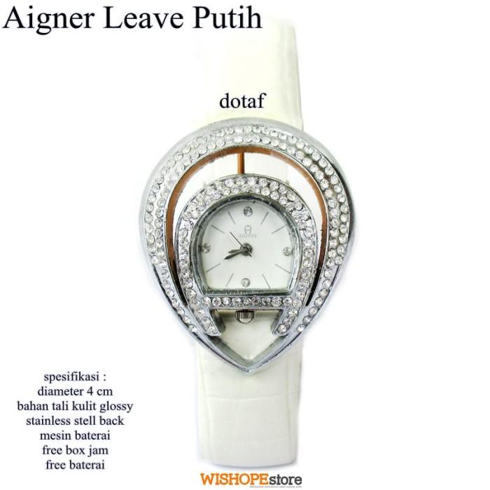 harga Jam tangan kulit agner leave super full set putih Tokopedia.com