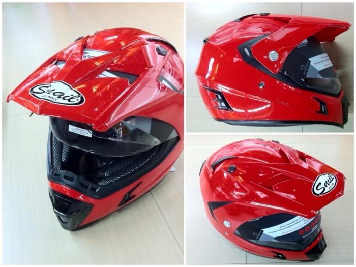 harga Helm snail supermoto super moto mx311 double visor full face Tokopedia.com