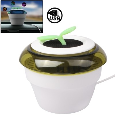 harga 2 in 1 usb peace grass car fresh air purifier - penyegar udara mobil Tokopedia.com
