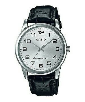 harga Jam tangan pria tali kulit casio original mtp-v001l-7b Tokopedia.com