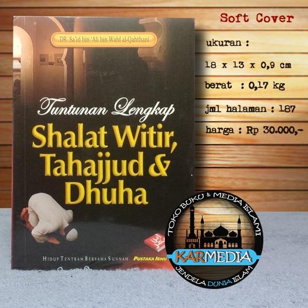 harga Tuntunan lengkap shalat witir tahajjud & dhuha - piu - karmedia Tokopedia.com