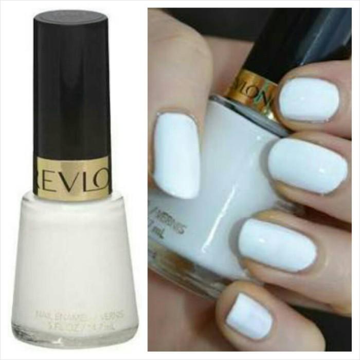 Jual Revlon Nail Enamel 14.7ml #050 White on White - FAVOR ...