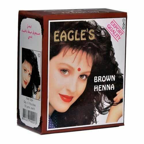 Jual Henna Cat Rambut Coklat Brown Henna Eagle S Beauties Corner