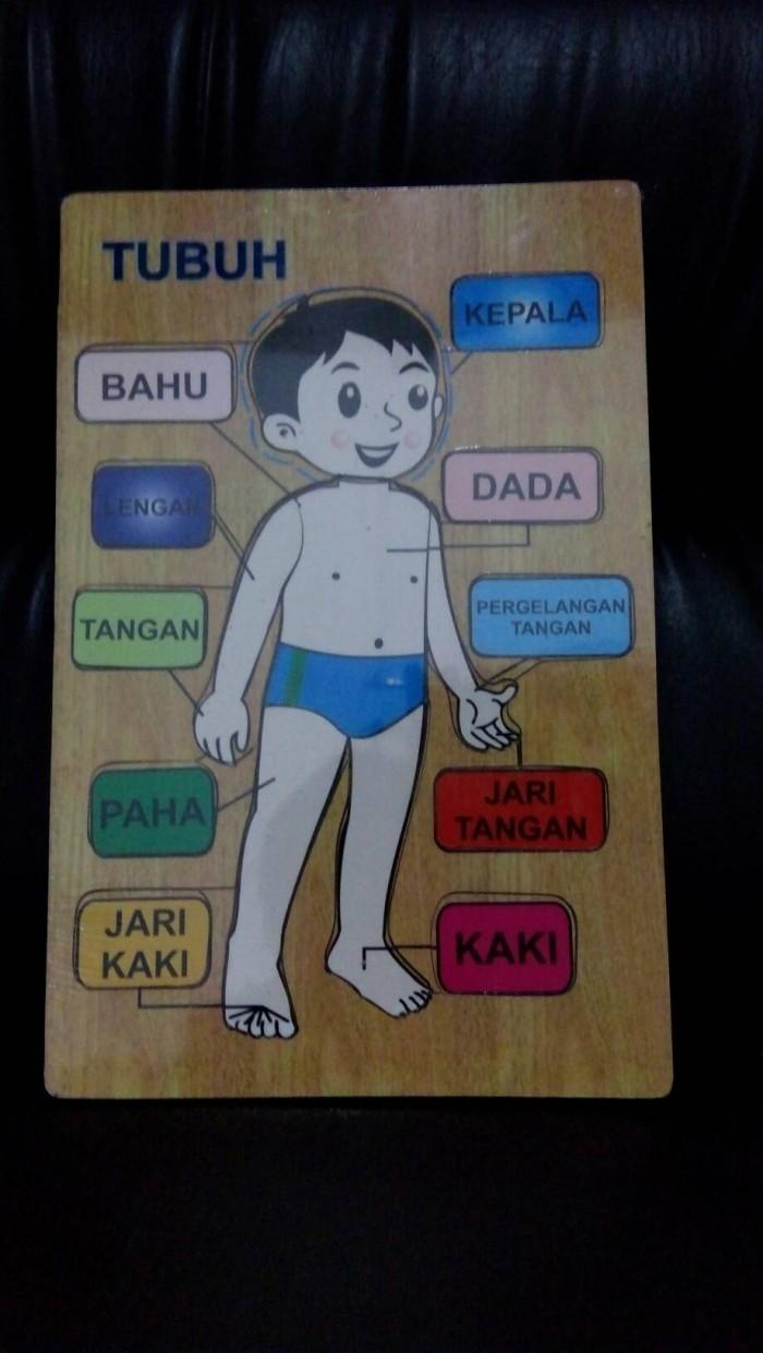 Jual Mainan Edukasi Anak Puzzle Anggota Tubuh Kota Kediri Mainanalfaqih
