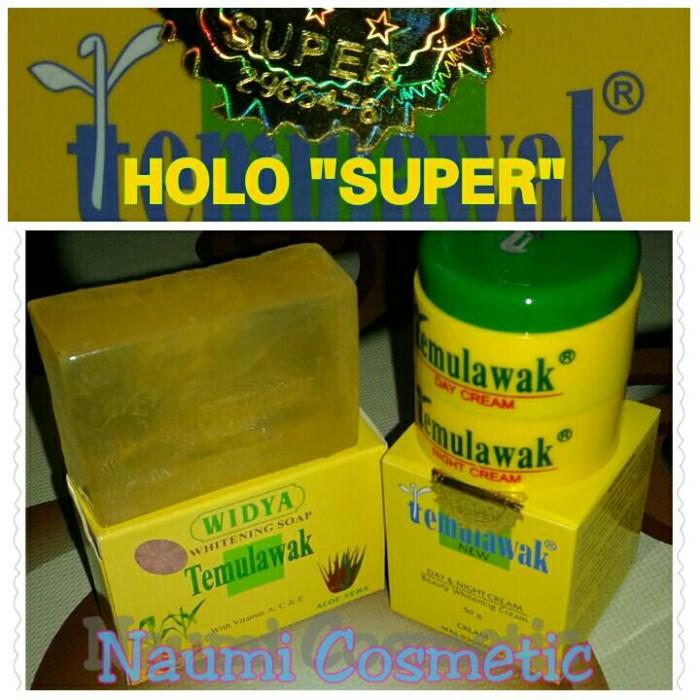 Paket Cream Temulawak + Sabun Temulawak Widya Holo Pink